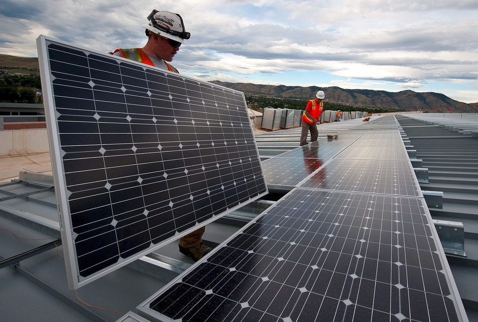 Roof solar-panels-Montaj
