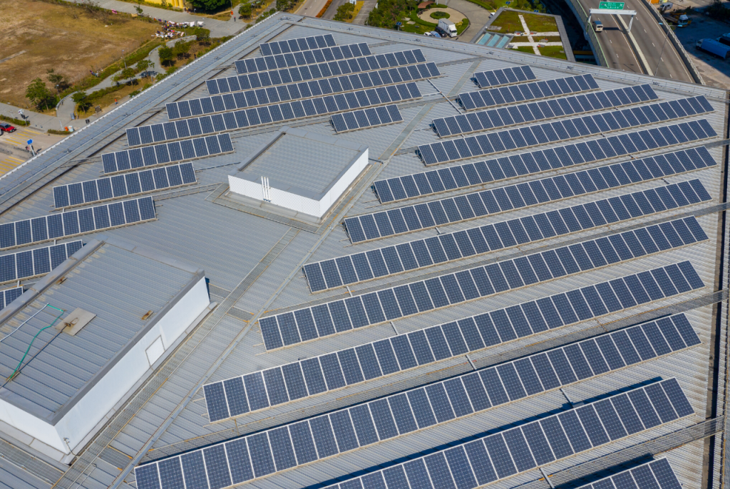 rooftop solar installation for commercial buildings